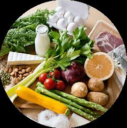 栄養バランスを整える