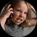 子供が怒りっぽい